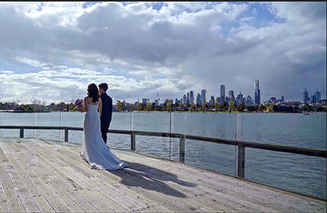 Carousel Albert Park wedding