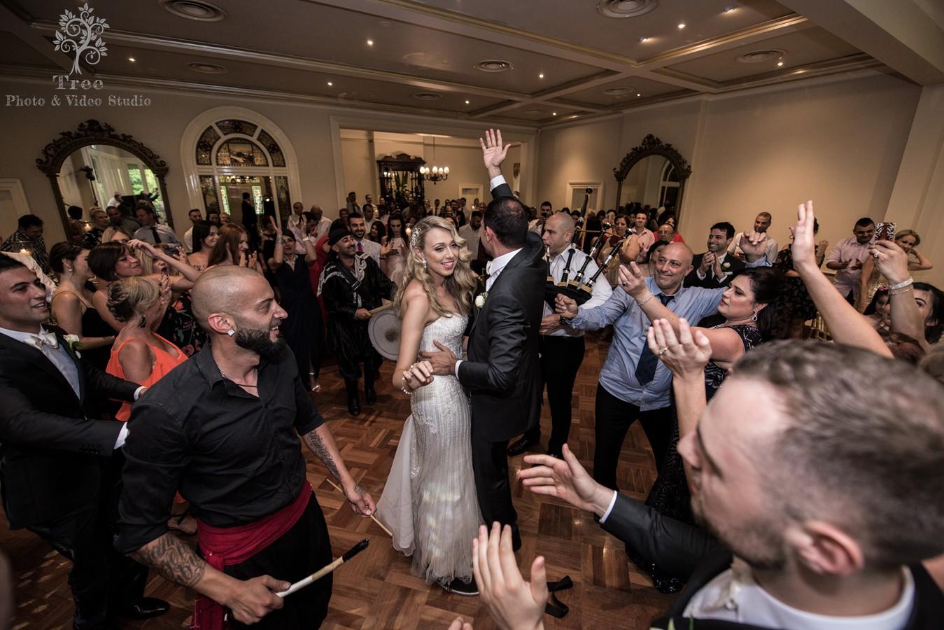 Ascot House Wedding Photo