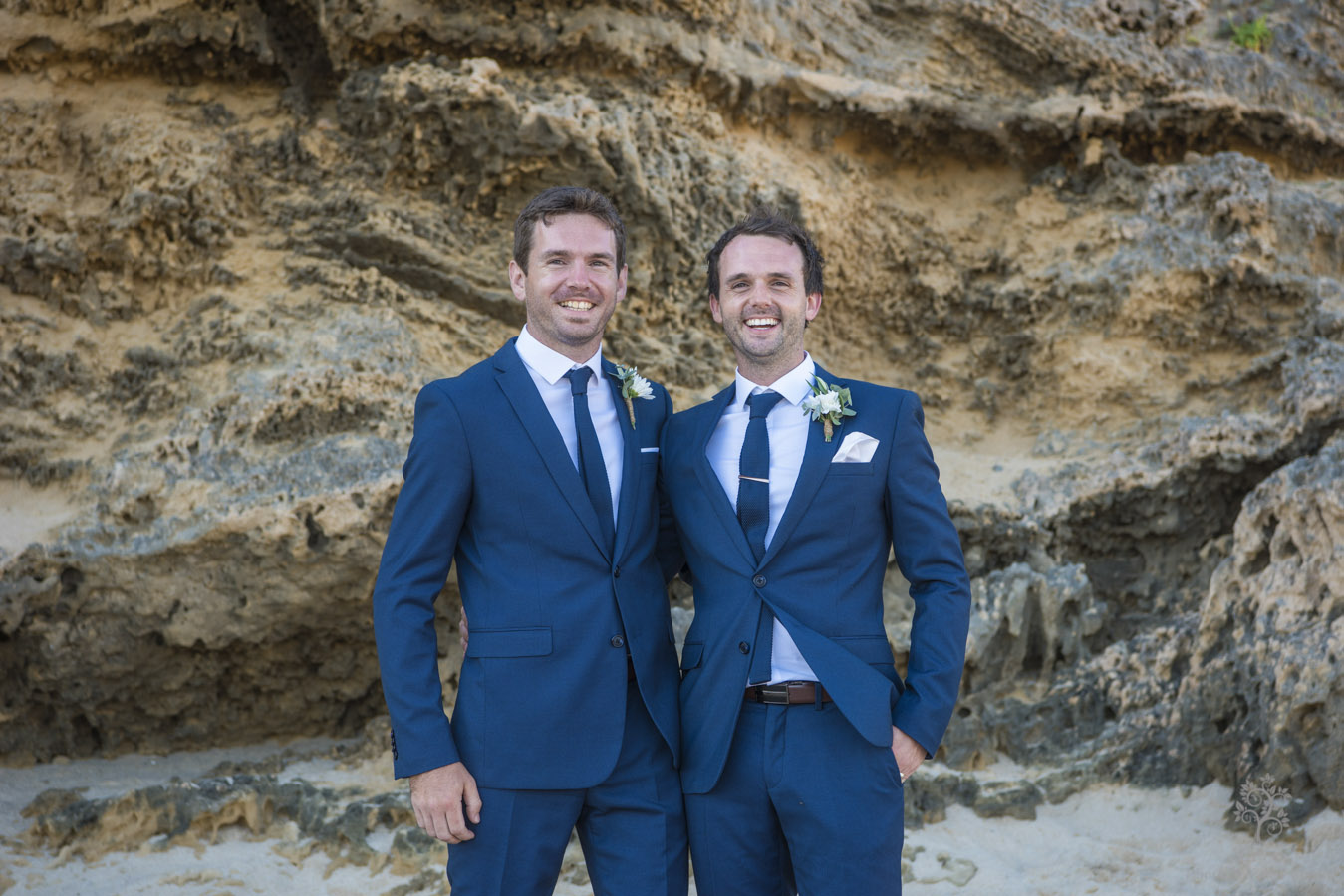 Sorrento groom and groomsmen