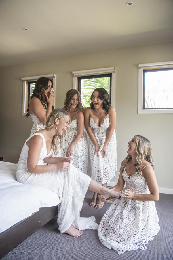 bride get ready
