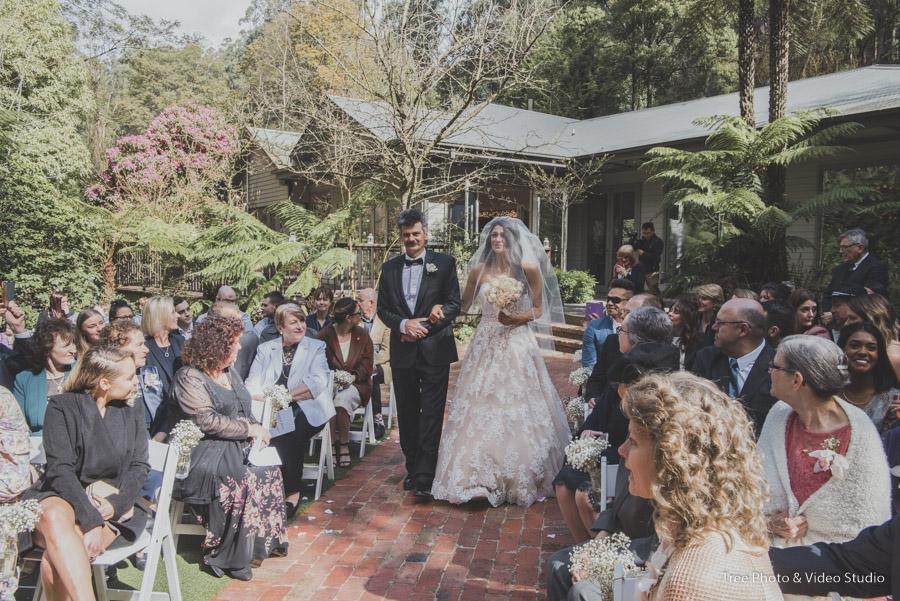 Lyrebird Falls Wedding