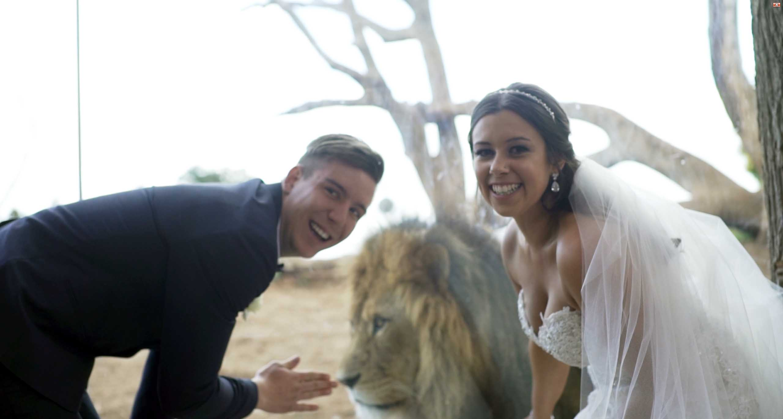 Werribee Open Range Zoo Wedding