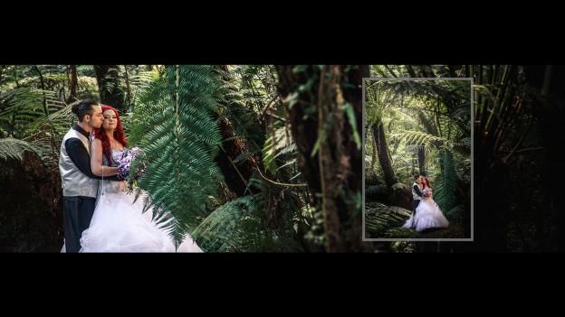 Melbourne wedding photo album design