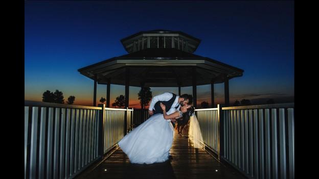 wedding night shoot Melbourne