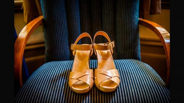 wedding shoes Glen Erin at Lancefield