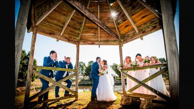 wedding photo Glen Erin at Lancefield