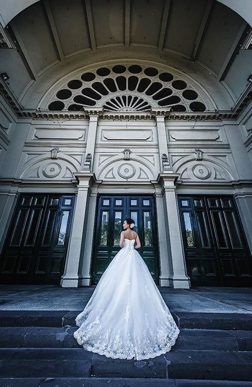 wedding photography in Carlton garden