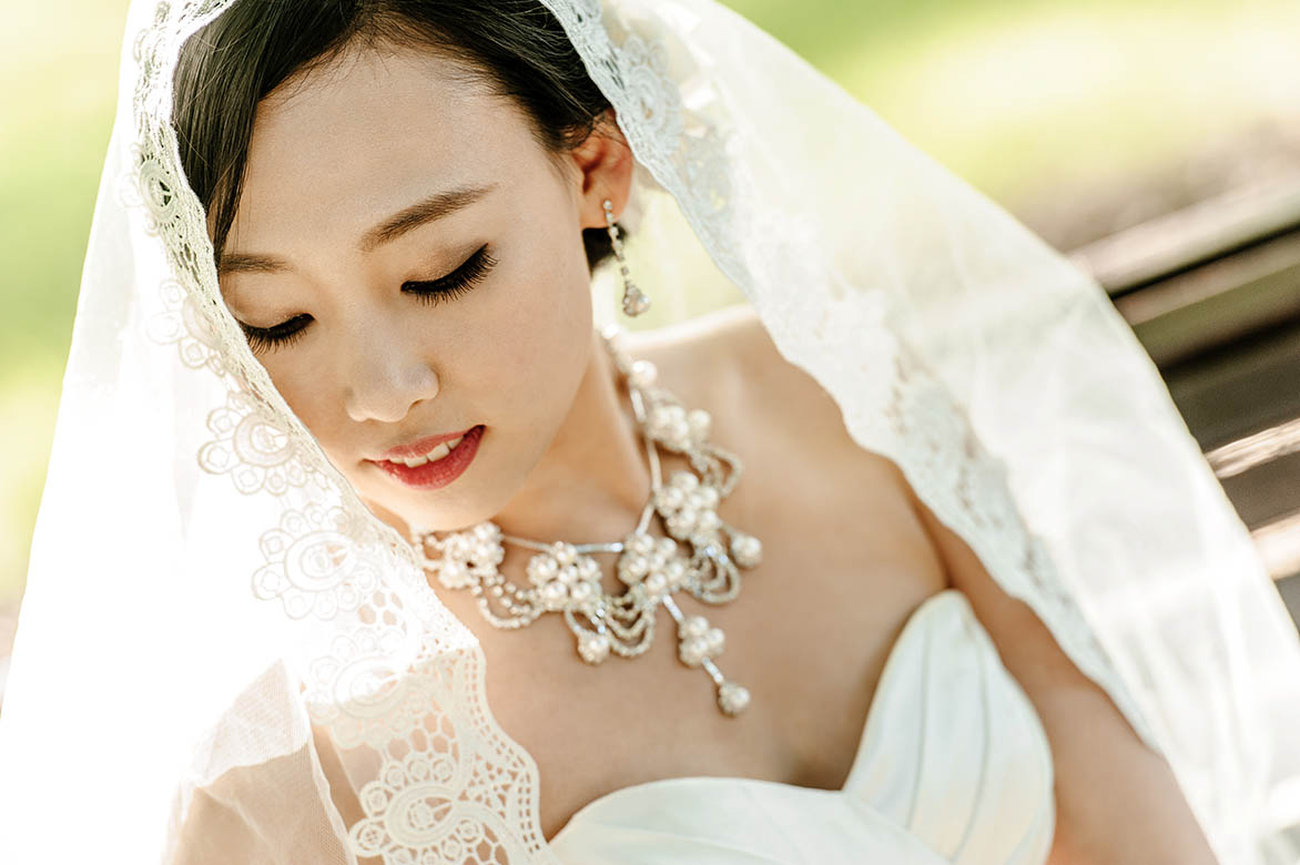 Melbourne bride photography in Carlton