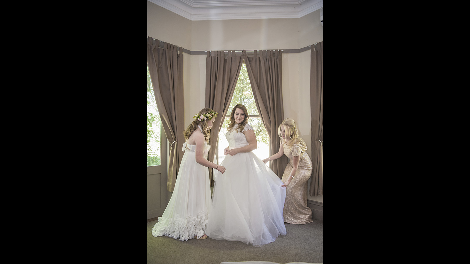 wedding bridemaids photography Glen Erin at Lancefield