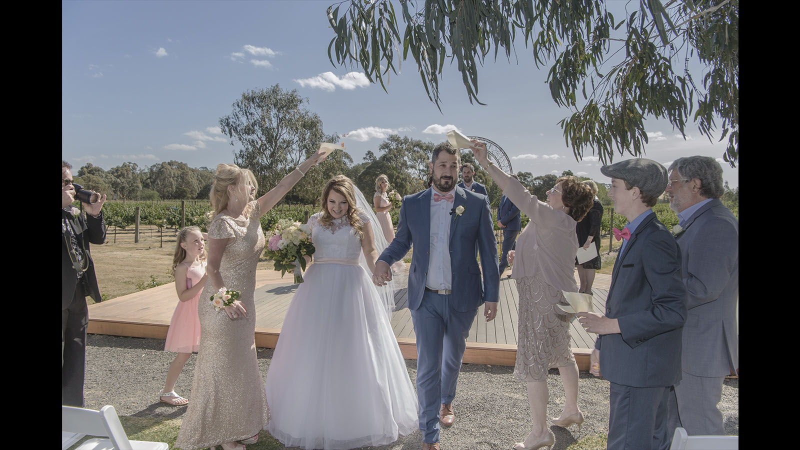 wedding photo Glen Erin at Lancefield