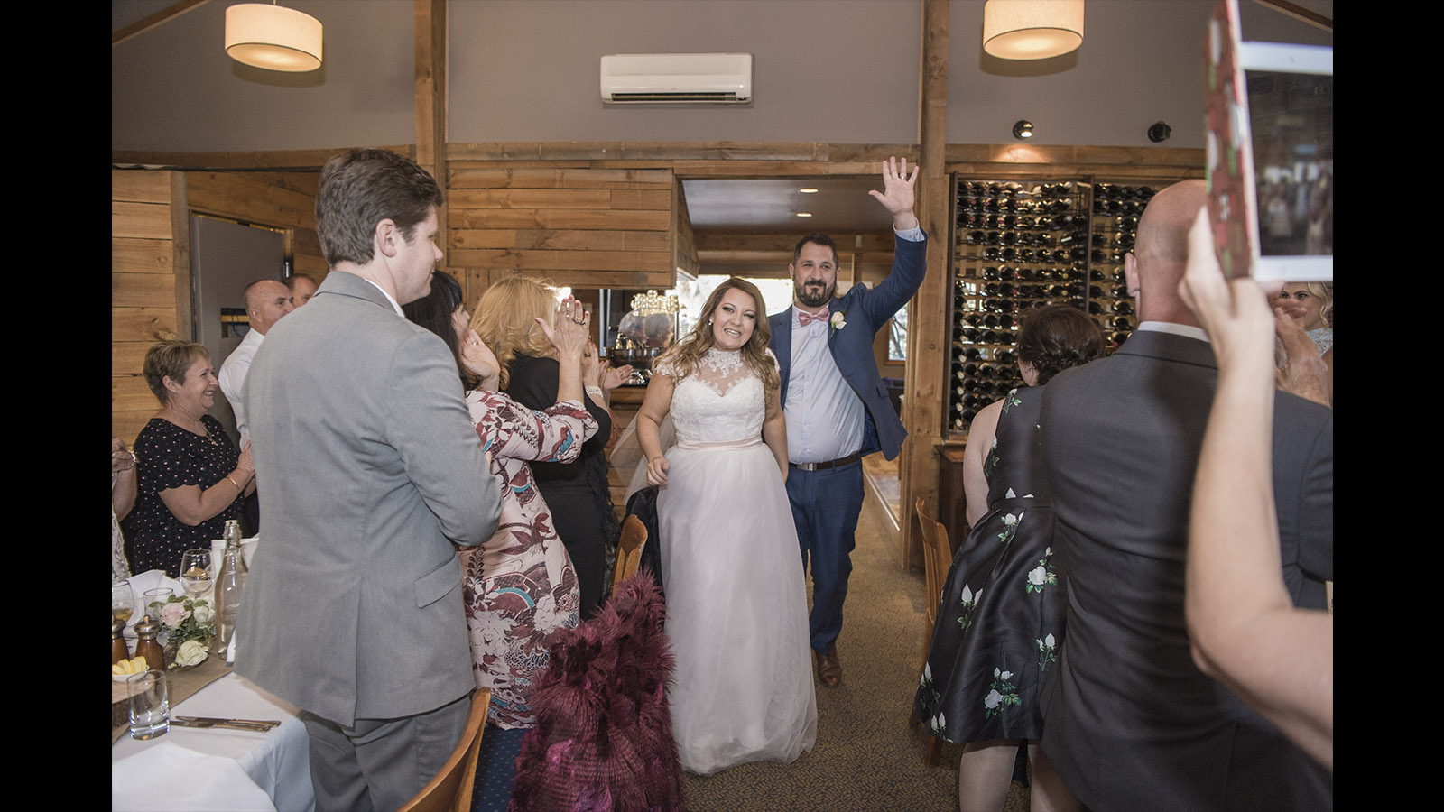 Melbourne wedding reception Glen Erin at Lancefield, Vineyard