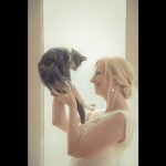 Bride and Cat