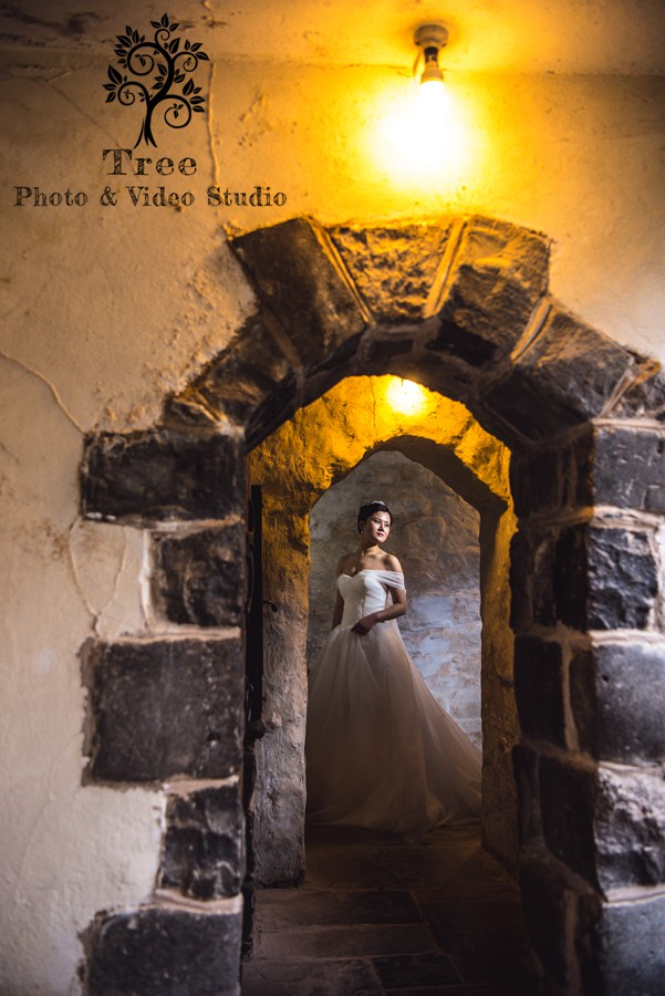 photo-fro-bride-in-Montsalvat