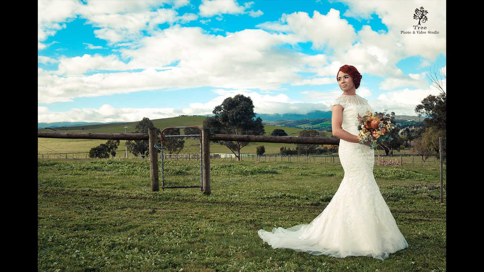 Yarra Vally Wedding Photo