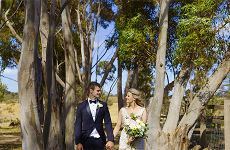 warrawong woolshed real wedding 1