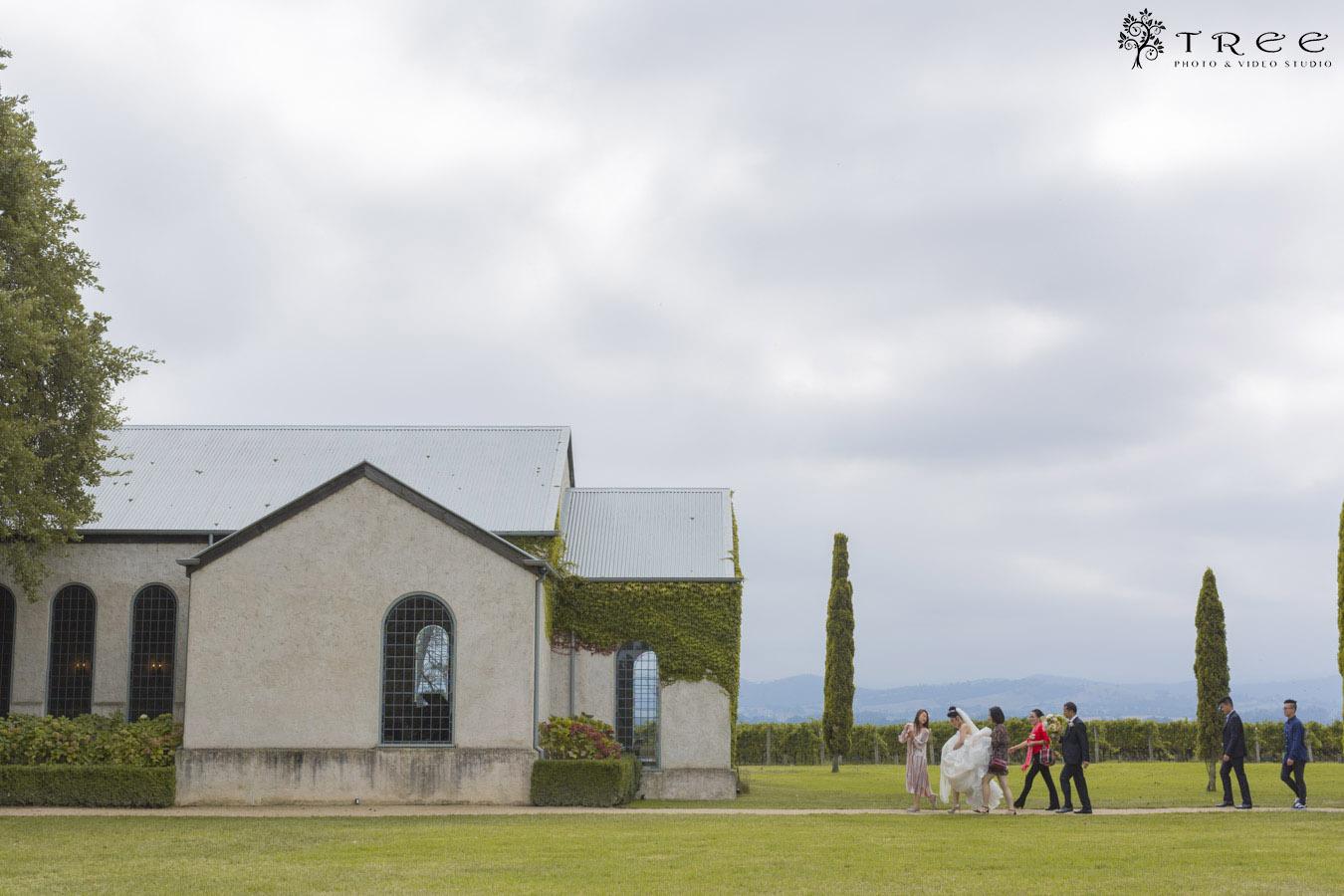 stones of yarra valley wedding photo