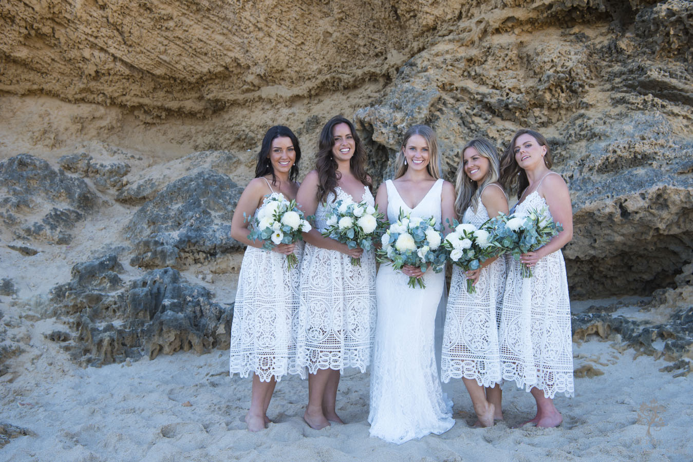 all smiles sorrento ocean beach bridesmaid
