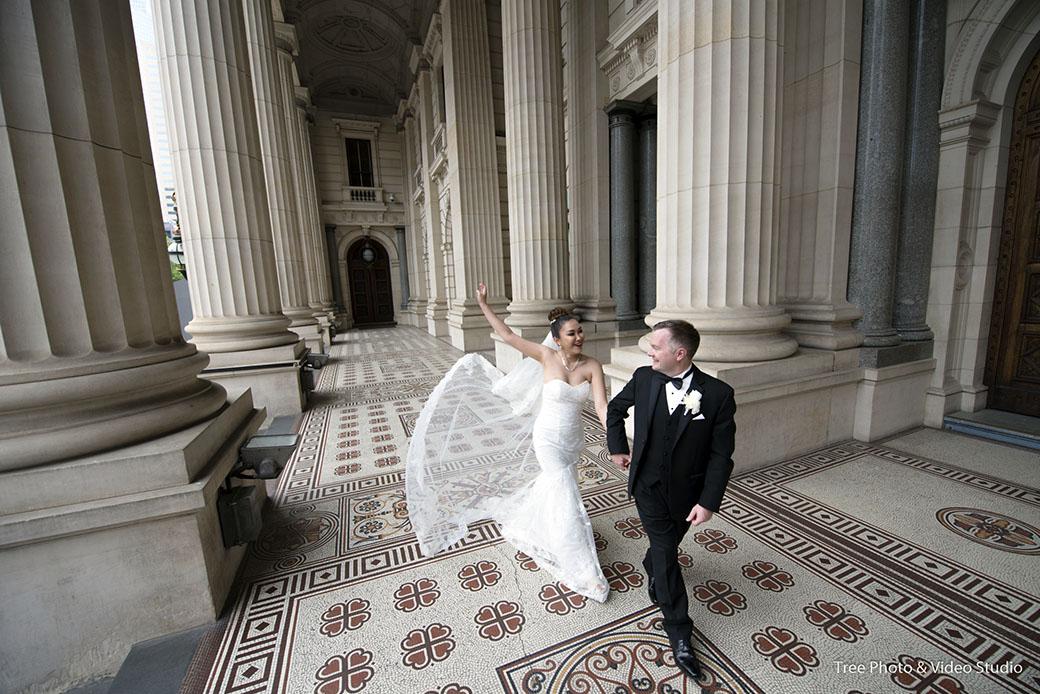 Parliament of Victoria Wedding