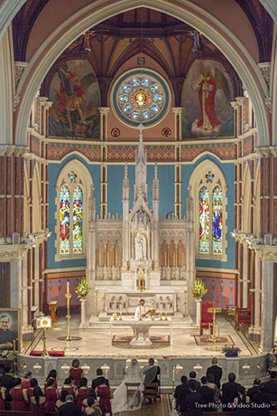 St Mary Star of the Sea Catholic Church West Melbourne Wedding
