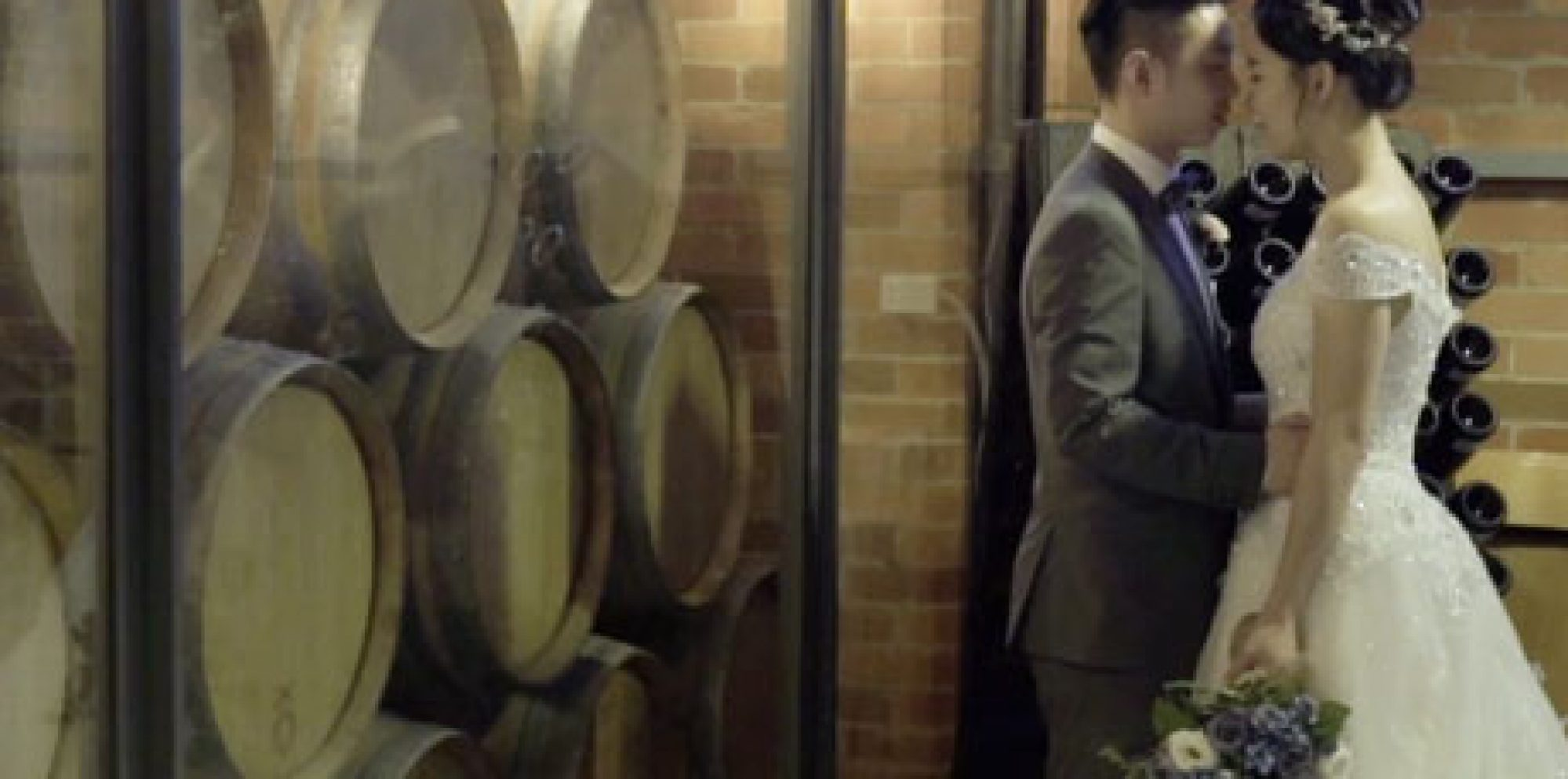 Emma and dominic rochford wines yarra valley wedding video