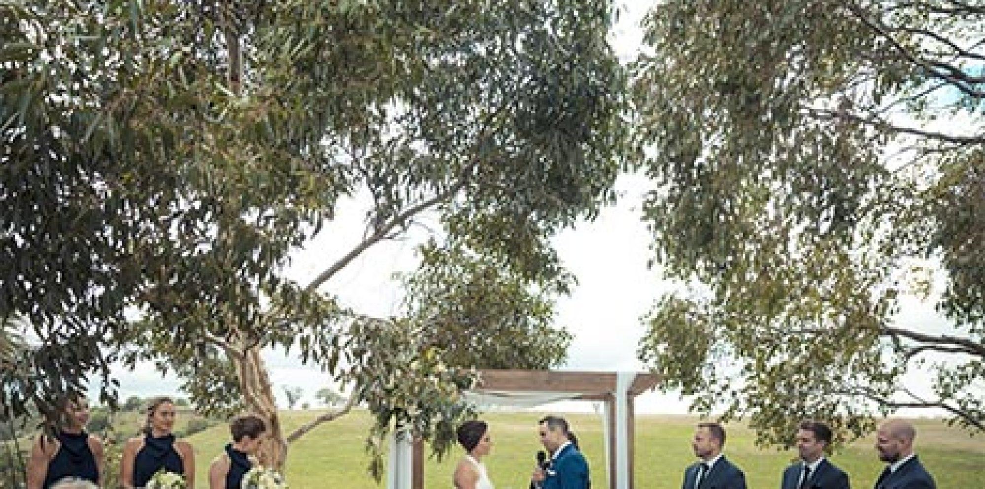 Matt & krystal | warrawong woolshed wedding video