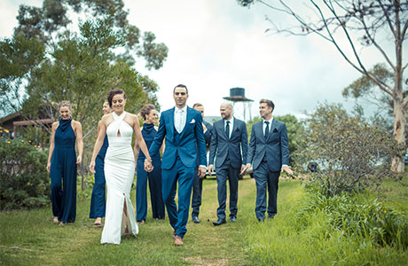warrawong woolshed real wedding 2