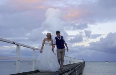 The Baths Sorrento Wedding Paige and Stephen