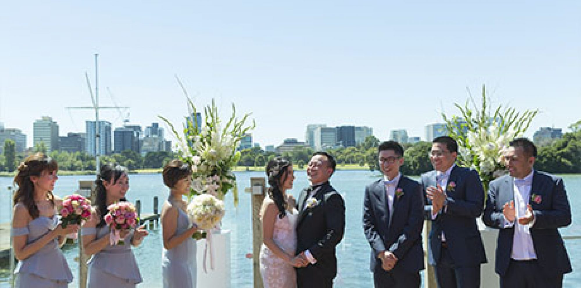 Polly & leo the point albert park wedding video