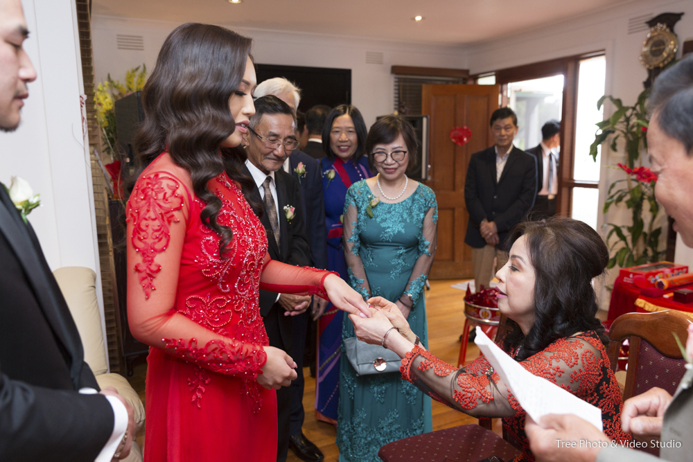Asian Wedding Tea Ceremony in Melbourne