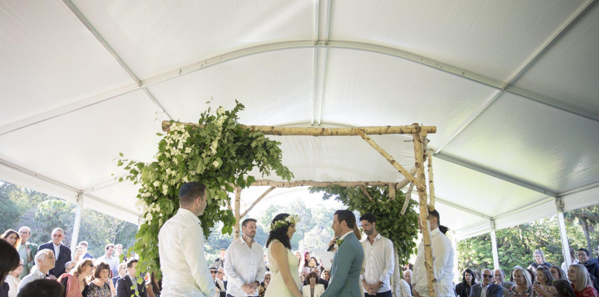 Paula & ben | the terrace – royal botanic gardens wedding videography melbourne