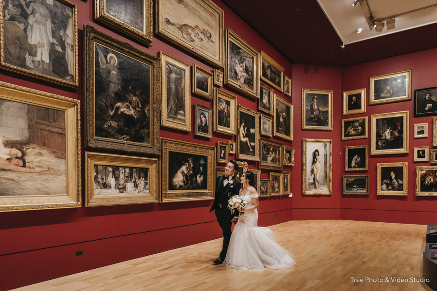 National Gallery of Victoria Wedding Photography