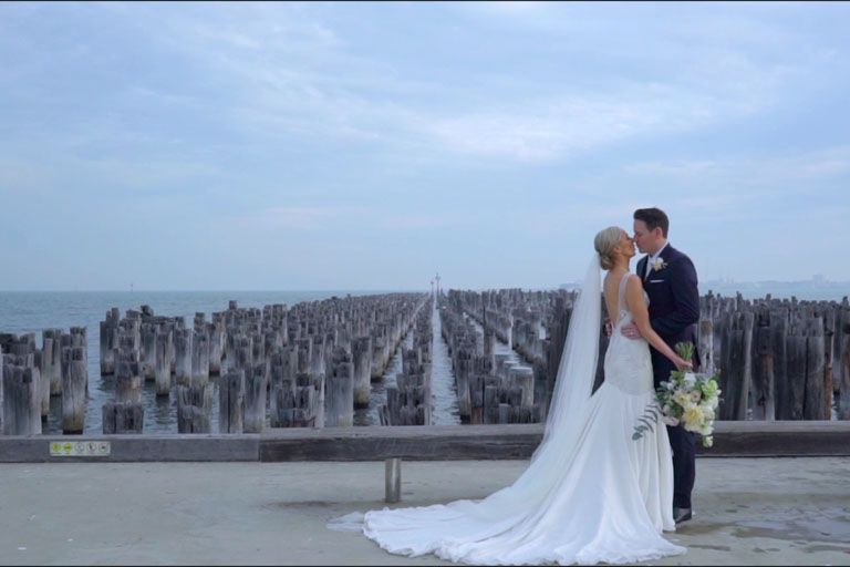 PRINCES PIER PORT MELBOURNE Wedding Photography