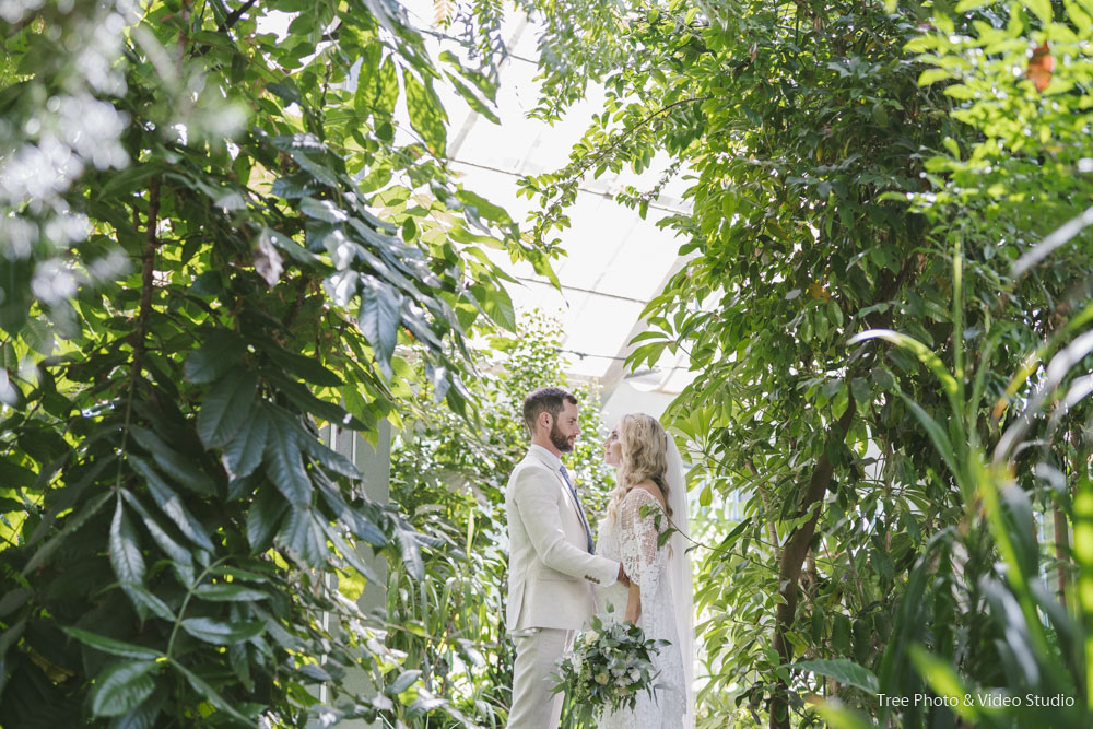 St Kilda Botanical Garden Wedding Location Photos