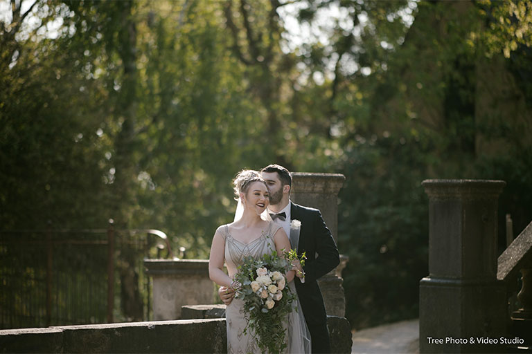 Mollie and James's Autumn Wedding At Montsalvat
