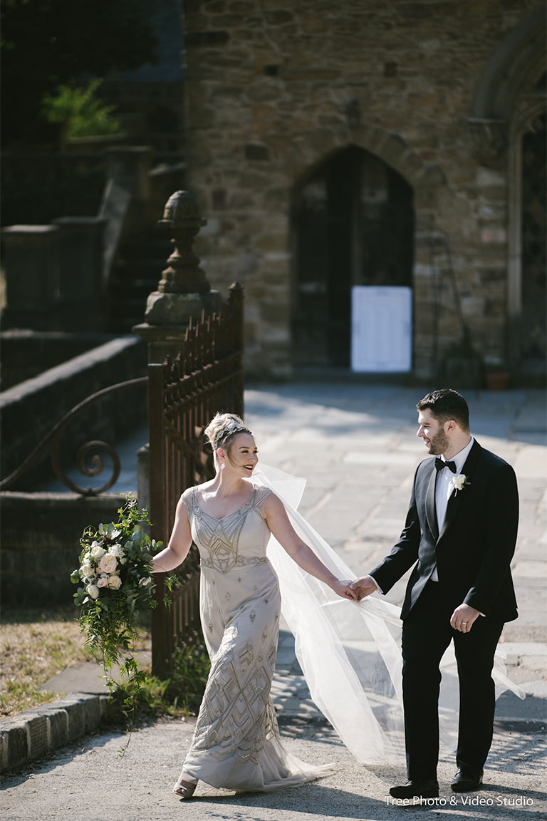 Mollie and James Boho Chic Wedding at Montsalvat