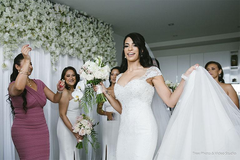 A Morning Preparation for Lebanese Wedding