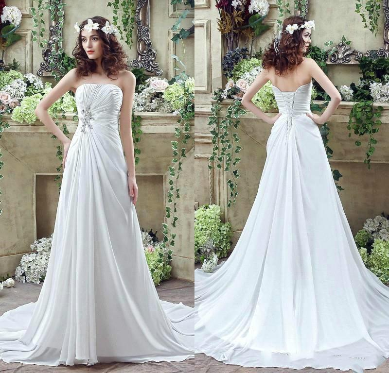 Casual Wedding Dress 12