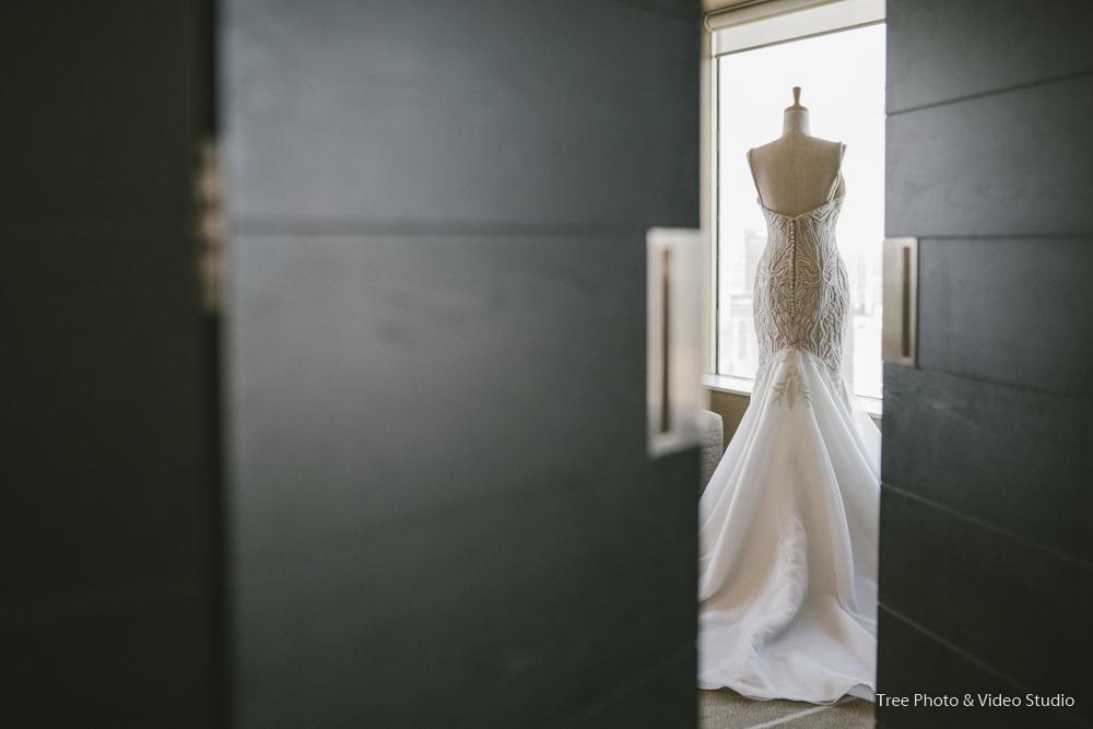 Ashna's Wedding Dress Setup