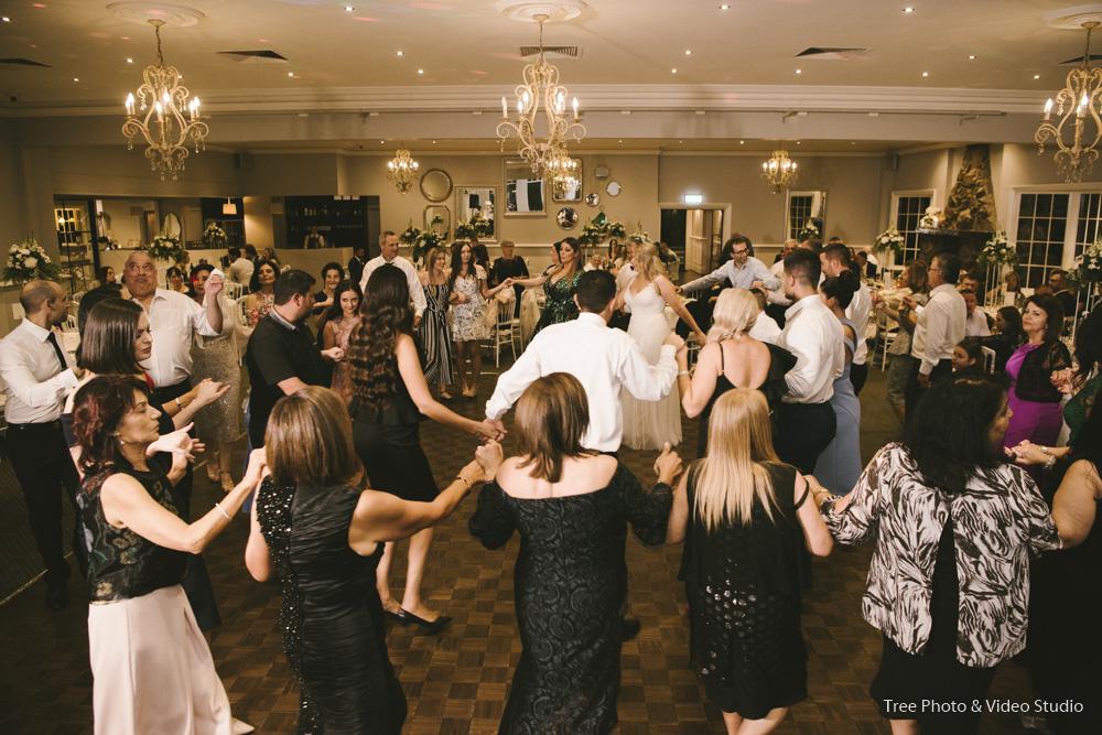 Kathrine and Michael's Greek Wedding