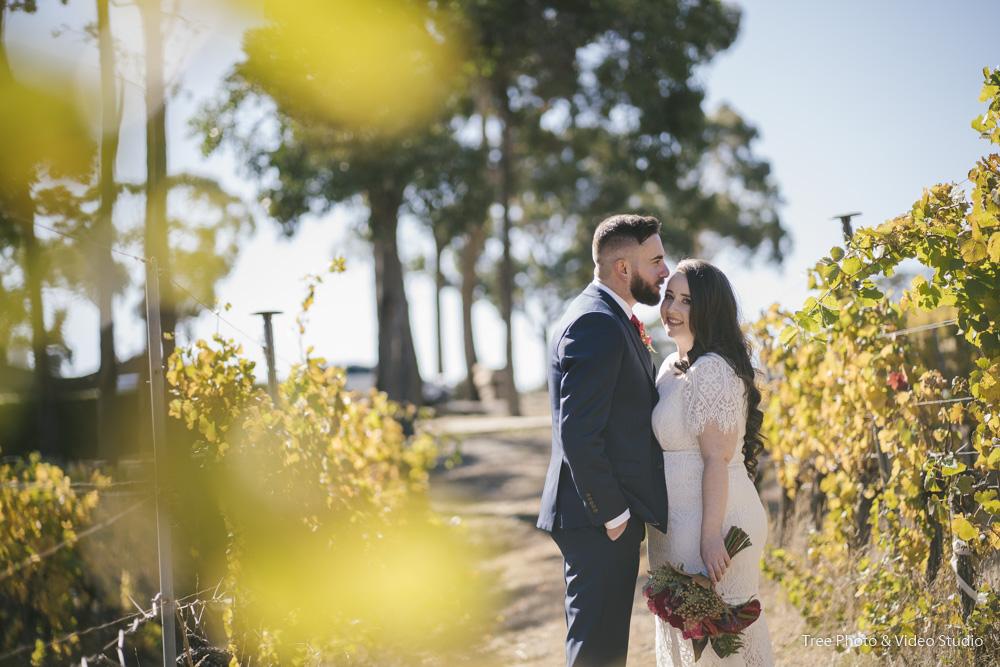 mount macadon winery Wedding SR