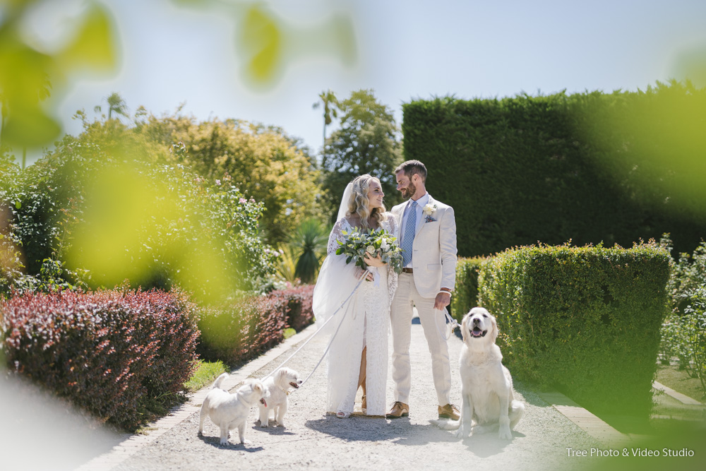 St Kilda Botanical Garden Wedding Photo1