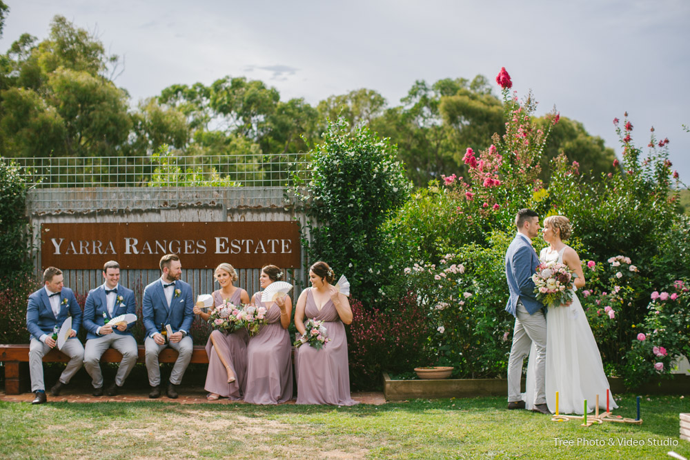 Natalie and Michael's Wedding at Yarra Range Estate