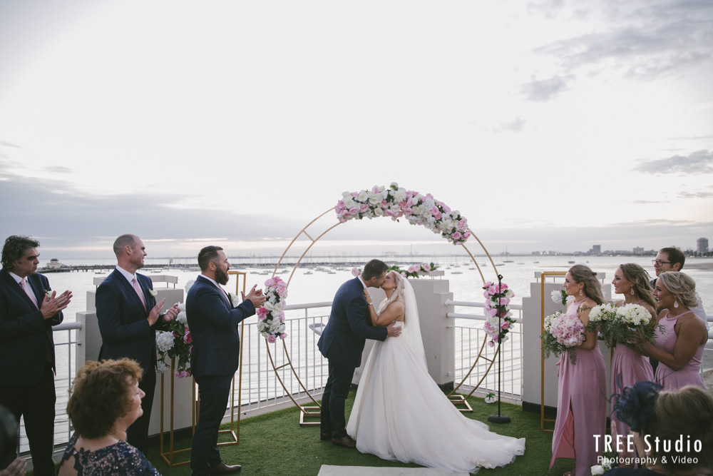 Melbourne Wedding Ceremony Location Harbour Room