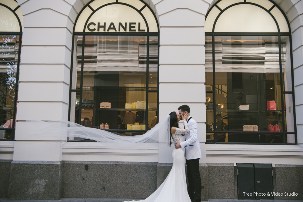 Wedding Location Photo At Chanel Melbourne City