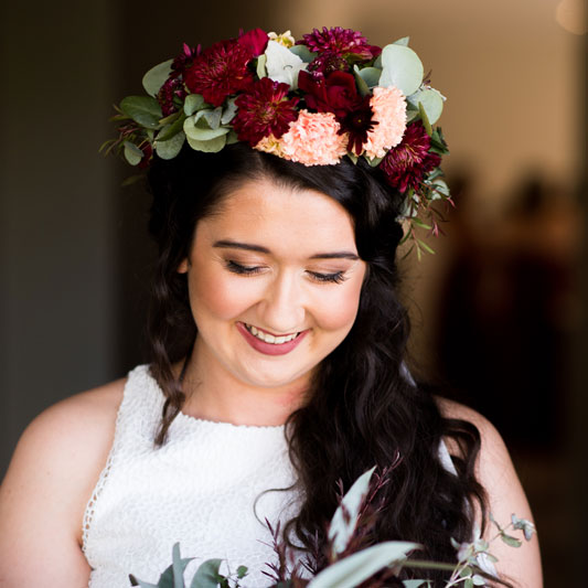 Floral Crown By Thistle Flower Studio