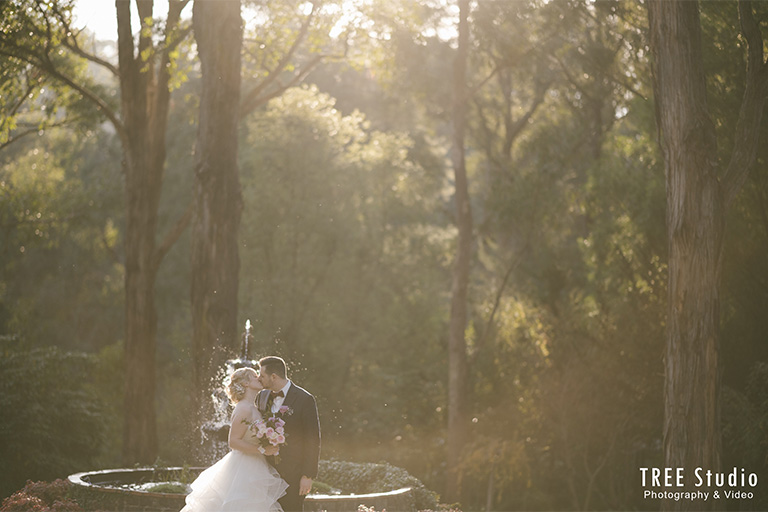 Dandenong Ranges Wedding at Avalon Castle