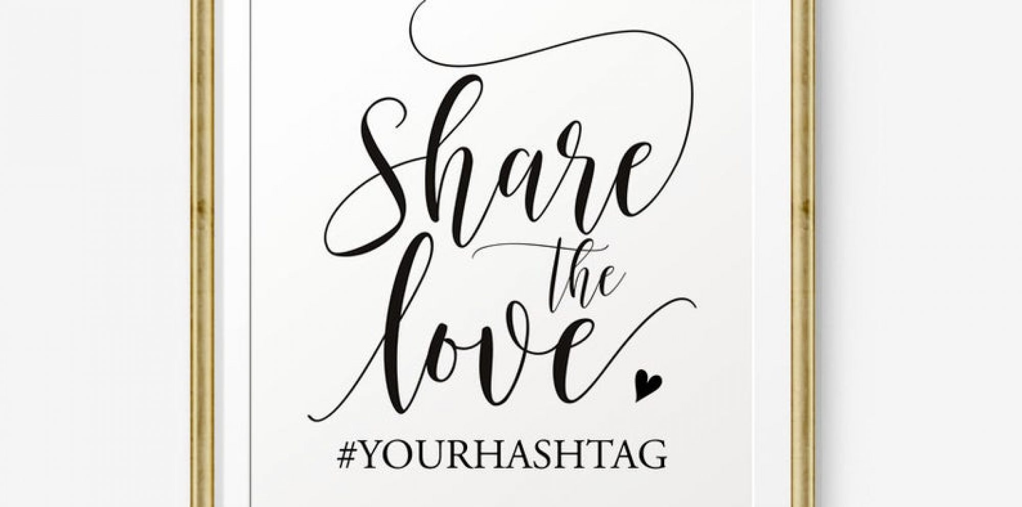 The wedding hashtag ideas you should definitely read