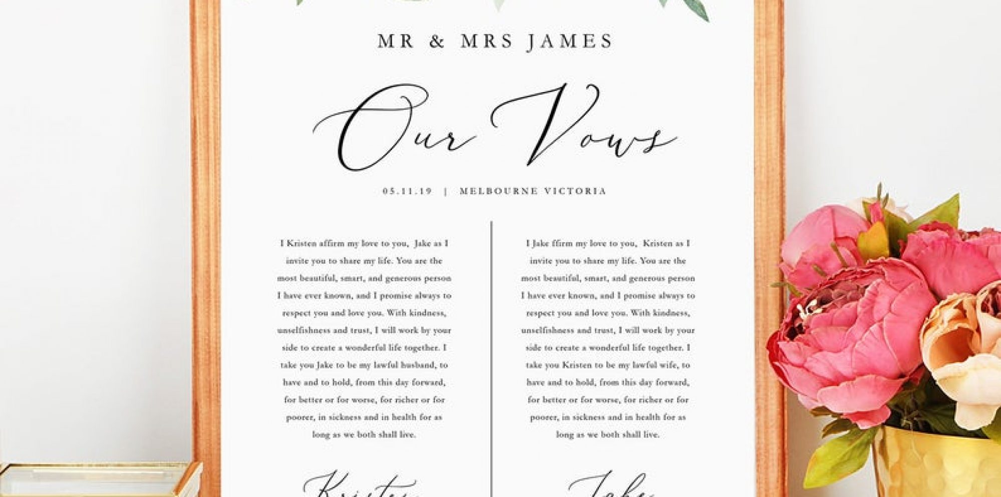 How to write your own wedding vows step by step