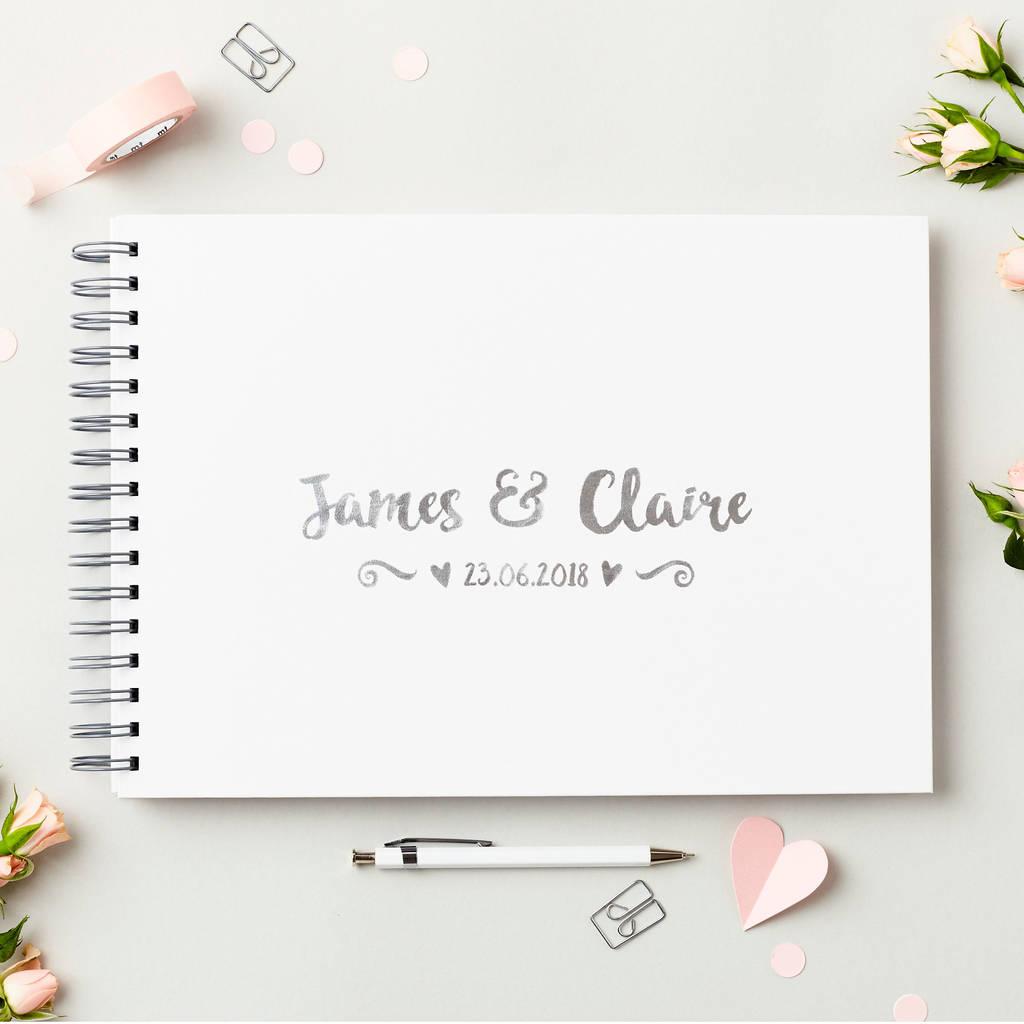 Wedding Guest List Book