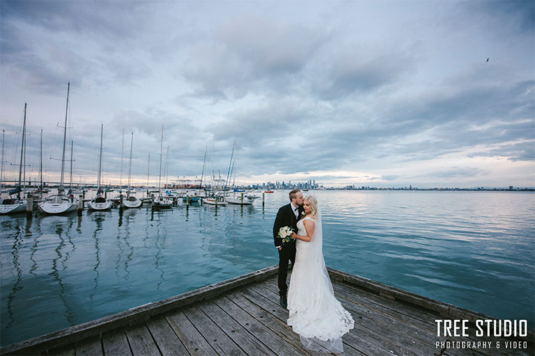 Wedding Photo at Gem Pier Williamstown